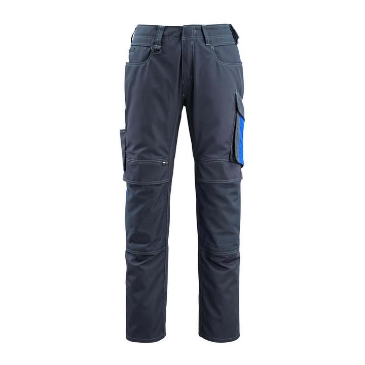 Mascot - Pantalon avec poches genouillères - CORDURA® - poids léger bleu - mascot
