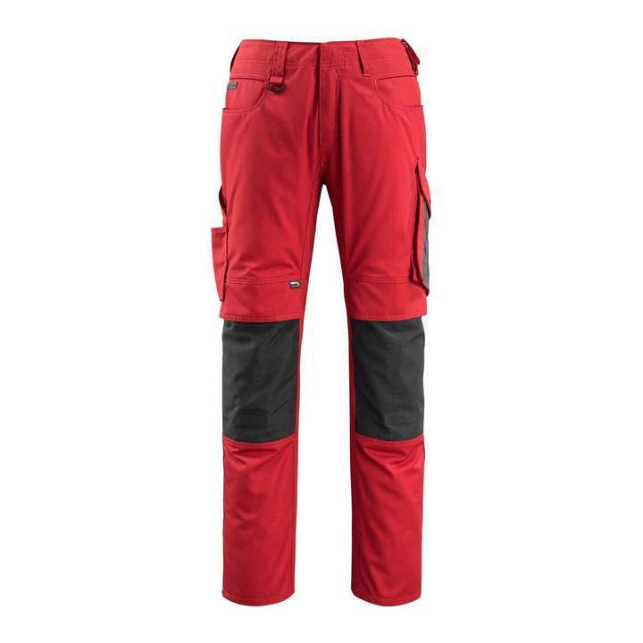 Mascot - Pantalon avec poches genouillères - CORDURA® - poids léger rouge - mascot
