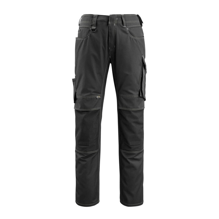 Mascot - Pantalon avec poches genouillères - CORDURA® - poids léger noir