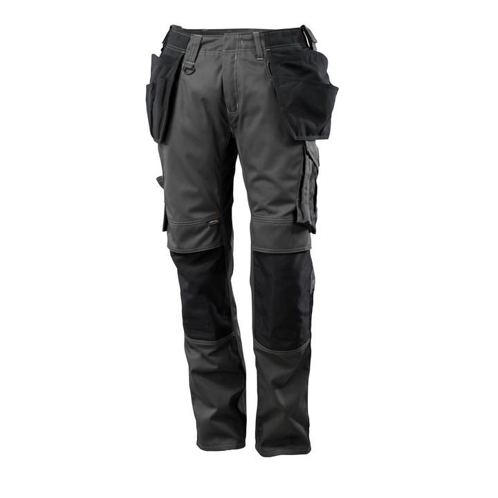Mascot - Pantalon avec poches flottantes - CORDURA® - poids léger anthracite noir