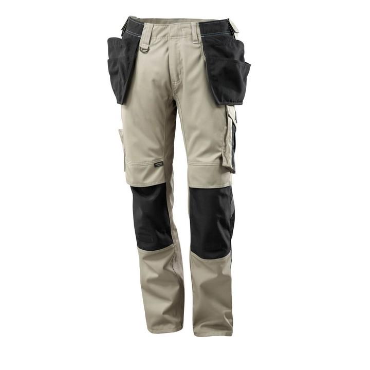 Mascot - Pantalon avec poches flottantes - CORDURA® - poids léger sable noir