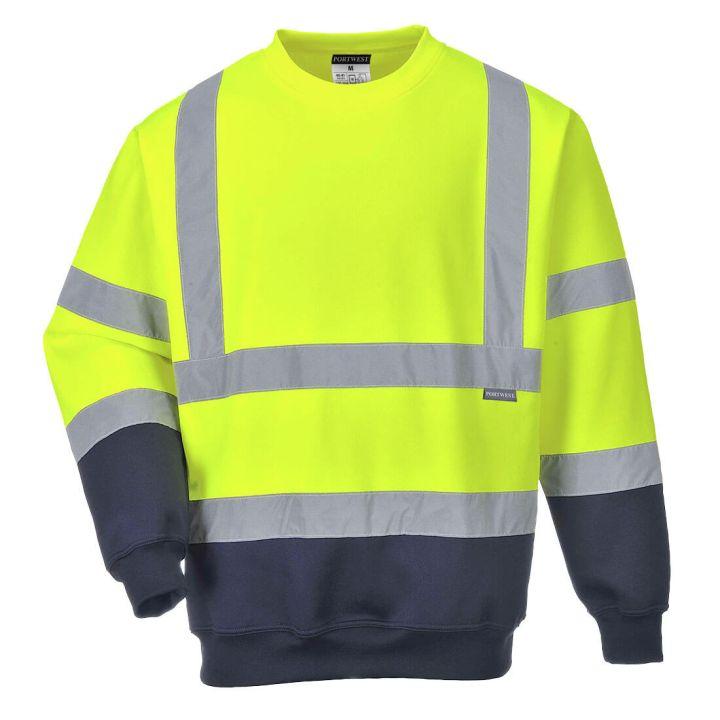 Portwest - B306 - Sweatshirt bicolore HiVis