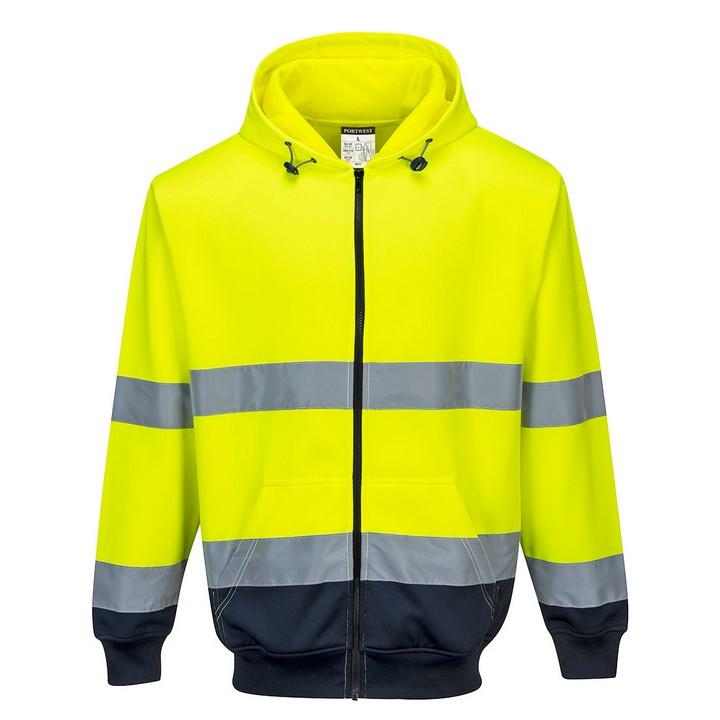 Portwest - B317 - Sweat à capuche bicolore à zip - PORTWEST ™