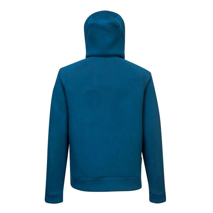 Portwest - DX472 - Sweat à capuche zippé DX4 - Bleu Metro