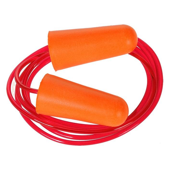 Portwest - EP08 - Bouchon anti-bruit en mousse PU avec cordon (200 paires)
