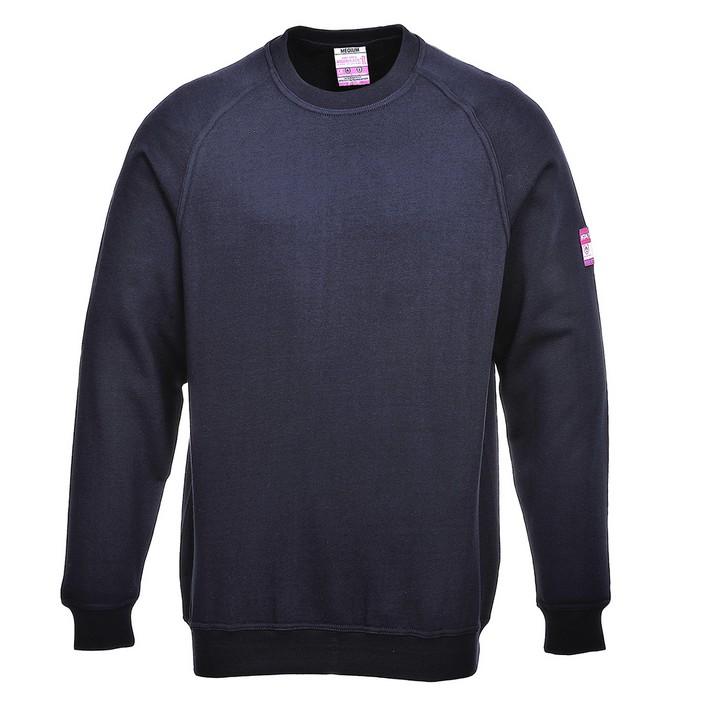 Portwest - FR12 - sweet shirt retardateur de flamme & Antistatique Sweat-shirt manches longues - PORTWEST ™