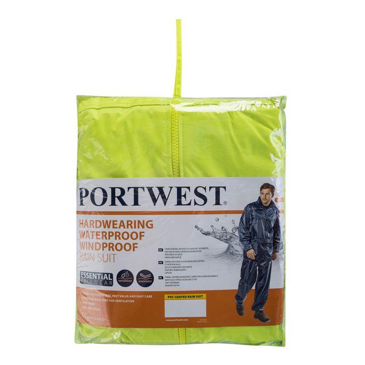 Portwest - L440 - Ensemble de pluie (veste + pantalon)