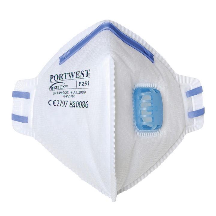 Portwest - P251 - Masque pliable FFP2 avec valve