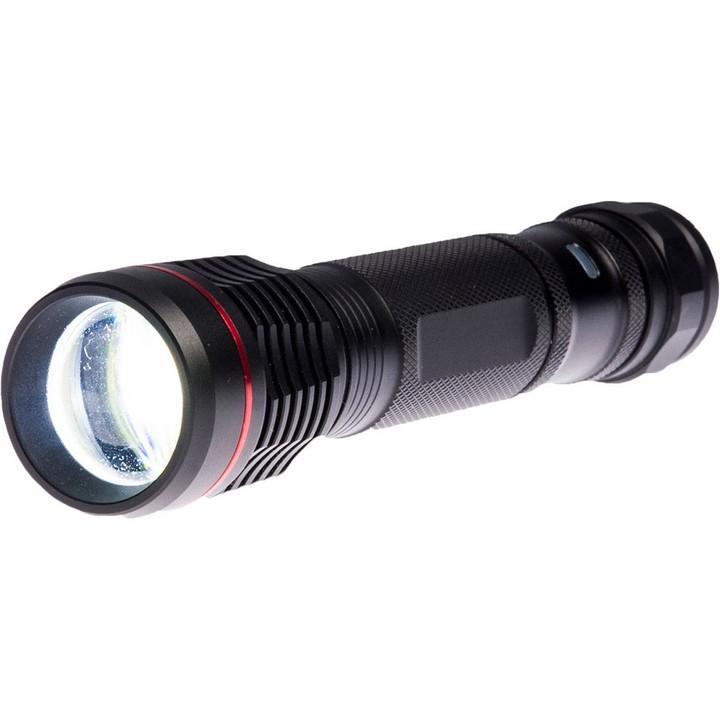 Portwest - PA75 - Torche rechargeable USB Noir