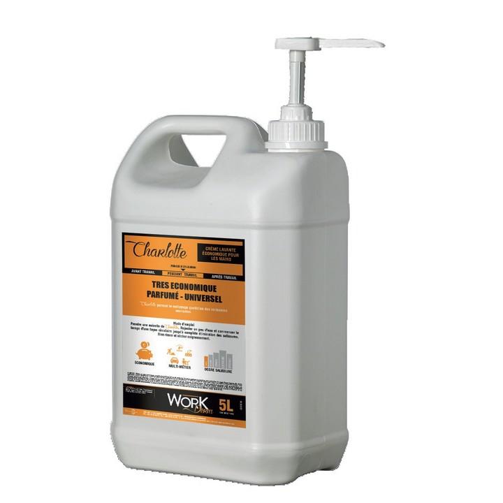 Charlotte - Crème lavante économique pour les mains + pompe