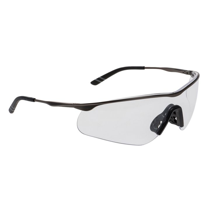 Portwest - PS16 - Lunette Tech Métal - Incolore - PORTWEST ™