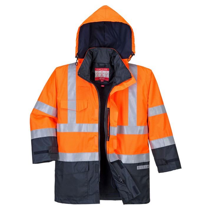 Portwest - S779 - Parka HV Bizflame Rain Multi-risques - PORTWEST ™
