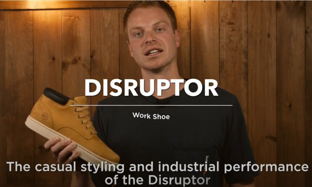 Timberland PRO : Disruptor [présentation vidéo]
