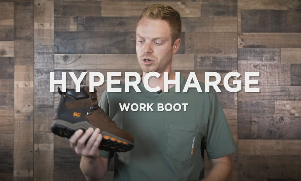 Timberland PRO : Hypercharge [présentation vidéo]